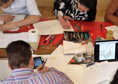 teambuilding-workshop-cursus-Zonder-Gum-creatieve-werkplaats-horst-limburg